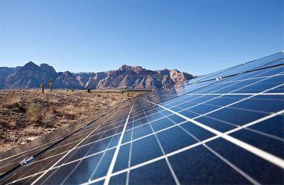 Крупнейшая солнечная электростанция турции