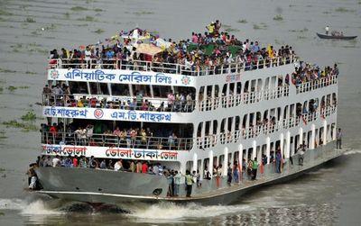 Крушение парома в бангладеше. есть жертвы