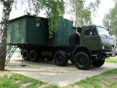Кухня-столовая для российской армии - «военные действия»