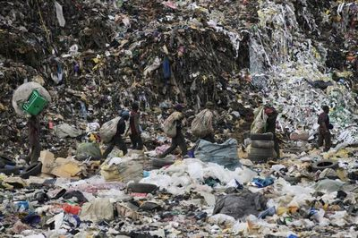 Лагос: электричество из мусора