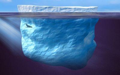 Ледяная мечта жоржа мужена: айсберг