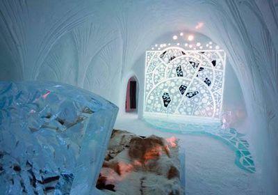 Ледяной рай: отель уснежной королевы