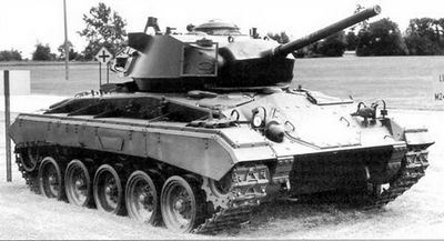 Легкий танк «генерал чаффи»