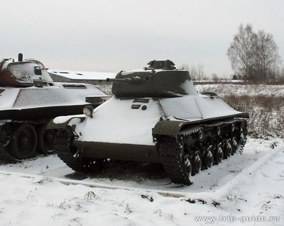 Легкий танк т-50