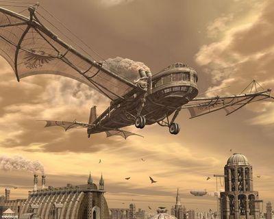 Летающий паровоз: самолет спаровым двигателем