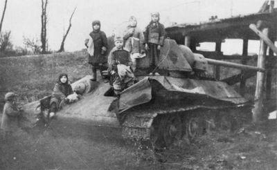 Маленькие воины - «военные действия»