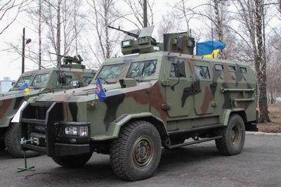 Минобороны украины приняло на вооружение бронеавтомобиль козак-2 - «военные действия»