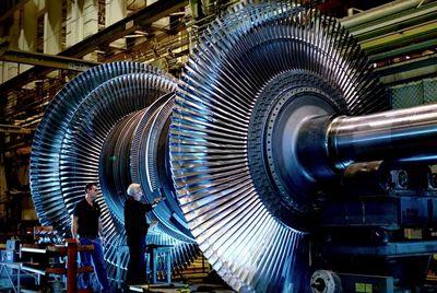 На 30% улучшена эффективность газовых турбин