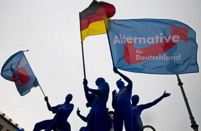 На первых земельных выборах этого года в германии партия меркель понесла серьёзные потери - «военные действия»