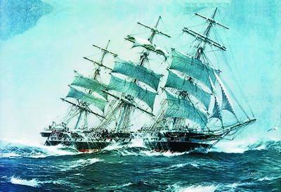 Небесные парусники пяти океанов: ветер