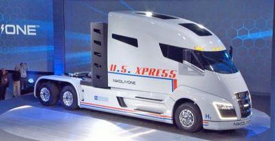 Nikola one — первый в мире водородно-электрический магистральный тягач