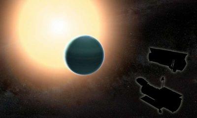 Обнаружен «горячий нептун» с примитивной атмосферой