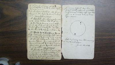 Обнаружены записи солнечных наблюдений, сделанные два века назад