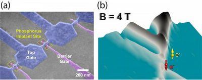 Одноатомный транзистор для квантовых компьютеров