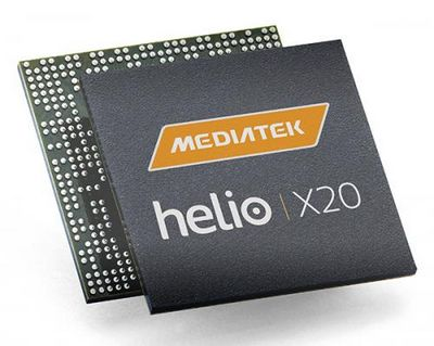 Однокристальная система mediatek helio x20 с десятиядерным cpu представлена официально