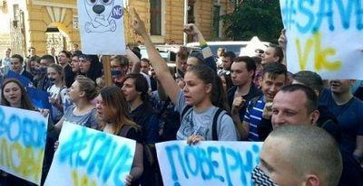 Онижедети против онижедетей на украине - «военные действия»