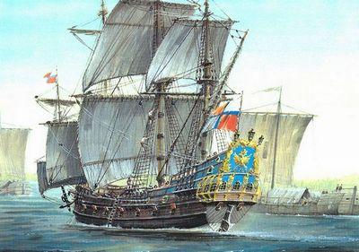 «Орёл» первенец росийского флота