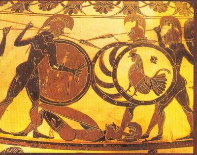 Оружие греческого гоплита