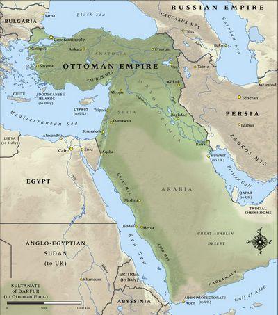 Османская империя накануне великой войны