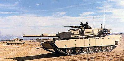 Основной боевой танк «абрамс»