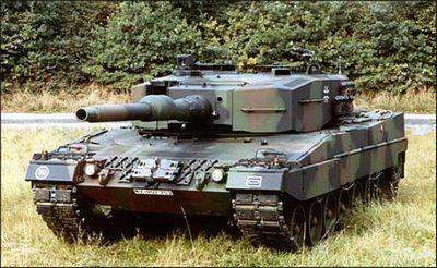 Основной боевой танк «леопард» 2