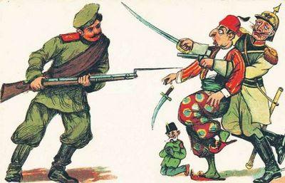 От шамиля до брюсселя - «военные действия»