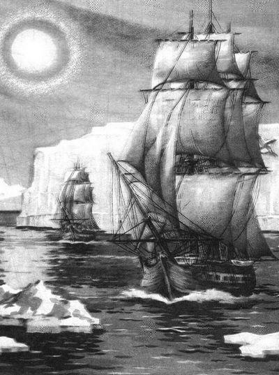 Открывшие антарктиду