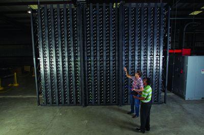 Озеленение электрических сетей вводом в эксплуатацию гигантских батарей