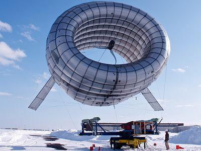 Парящая ветряная турбина бьет мировой рекорд на аляске