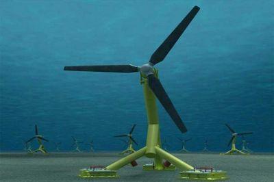 Первая приливная турбина у берегов шотландии