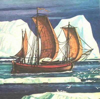 Первопроходцы студеных морей