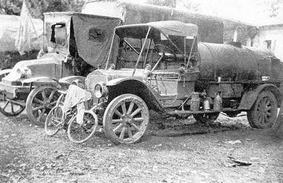Первые бронеавтомобили уайта