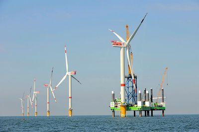 Первый в мире морской ветряк мощностью 6 мвт
