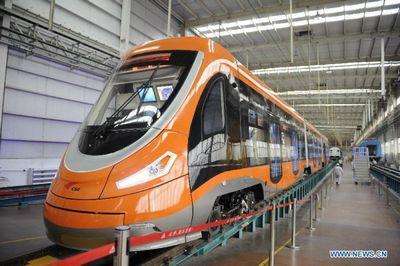Первый водородный трамвай создан в китае