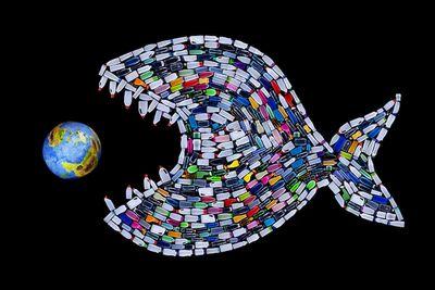 Пластмасса? одна изсамых серьезных угроз для человечества
