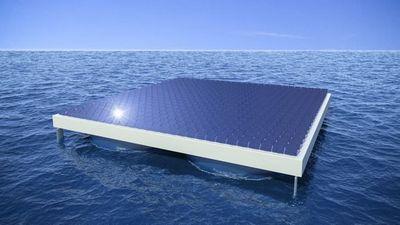 Плавучие солнечные панели