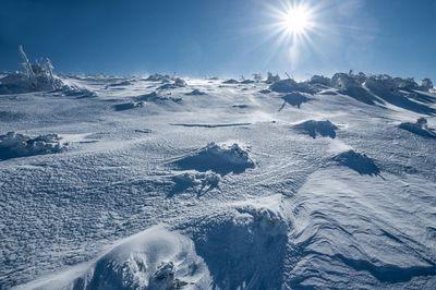 Под антарктидой скрывается огромная струя магмы