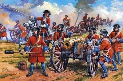 Полевая артиллерия конца xviii века