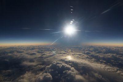 Полное солнечное затмение: фото сземли, самолета иорбиты
