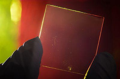 Полностью прозрачная солнечная панель