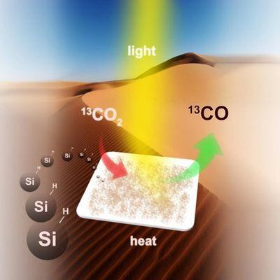Поможет ли песок получить топливо из углекислого газа и солнечного света?