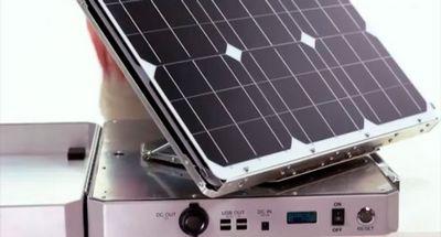 Портативный солнечный генератор sunsocket