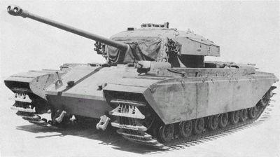 Последние крейсерские танки