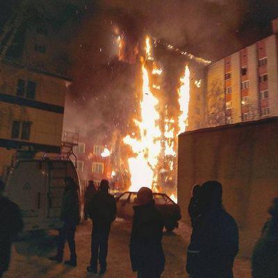 Пожар в хакасии забрал жизнь 15 человек