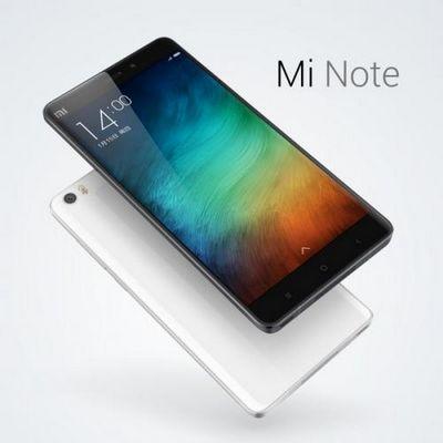 Представлены флагманские планшетофоны xiaomi mi note и mi note pro
