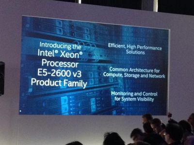 Представлены процессоры intel xeon e5-2600/1600 v3 с рекордными показателями энергетической эффективности