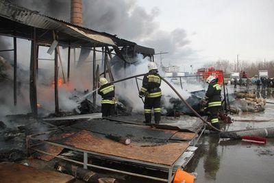 При пожаре в казани погиб подполковник мчс