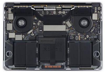 Разборка ноутбука apple macbook pro с панелью touch bar показала, что с устройством лучше быть очень бережным
