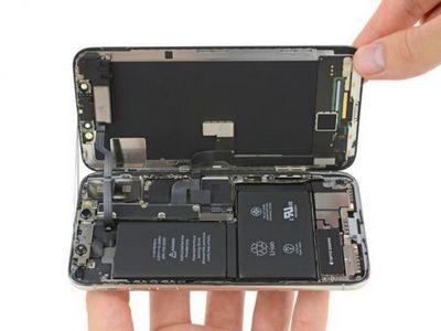 Разобрав iphone x, специалисты ifixit нашли в нём сдвоенный аккумулятор и двойную печатную плату
