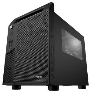 Reeven koios — компьютерный корпус с горизонтальным расположением системной платы и еще парой нестандартных решений
